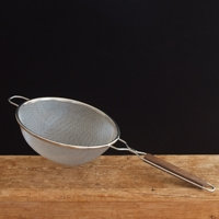 Stainless Steel Double Mesh Strainer, 10 1/4""