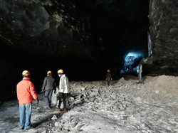 Extreme ice cave tour