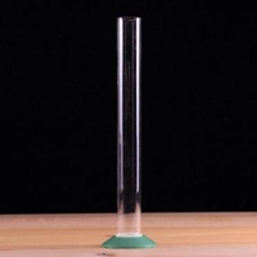 "Plastic Test jar, 12"" w/ Screw Base"
