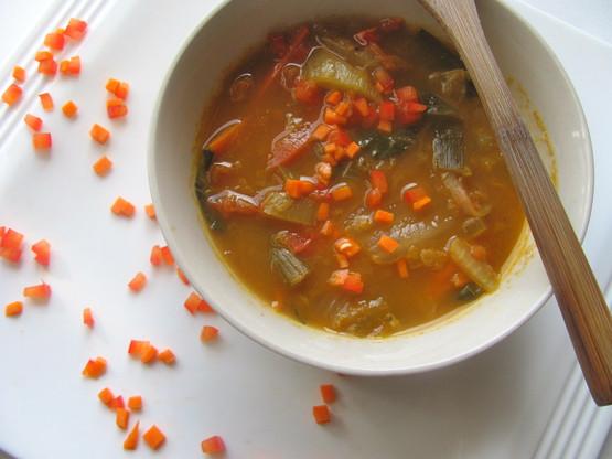 kim chi immunity soup