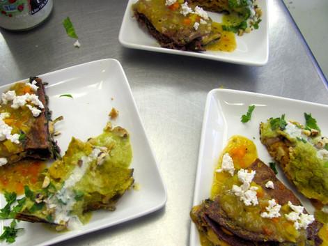 vegan enchilada duo