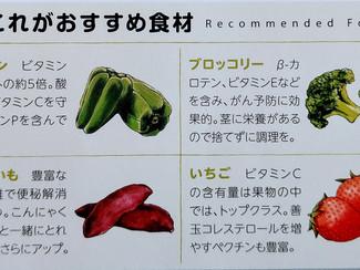 免疫力をアップする野菜たち