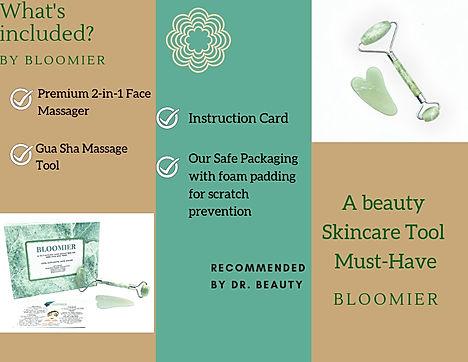 Peach and Pink Modern Massage Brochure (