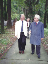 With Russian Deputy Foreign Minister B.L. Kolokolov