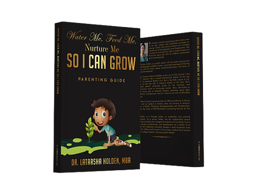 Water Me. Feed Me. Nurture Me. SO I CAN GROW Parenting Guide