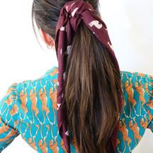 Natural Beaded Rows ponytail