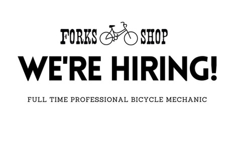 Wanted: Full-time Professional Bicycle Mechanic