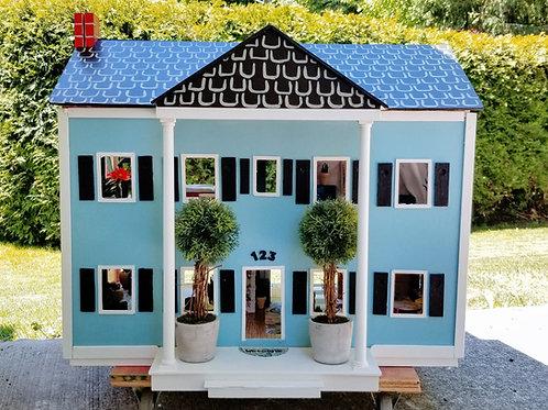 Vintage Handmade Dollhouse