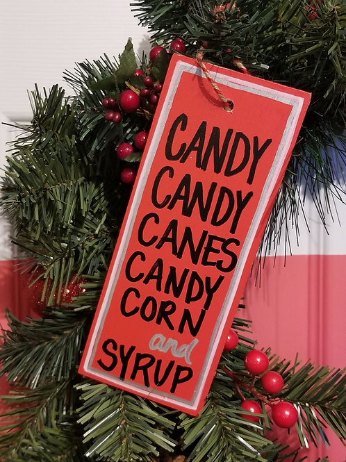 Elf's Food Group Ornament
