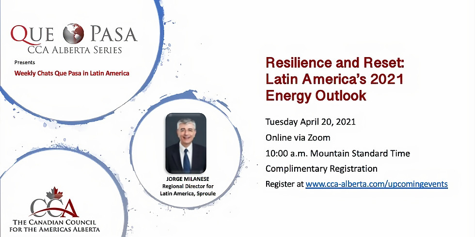 Resilience and Reset: Latin America's 2021 Energy Outlook