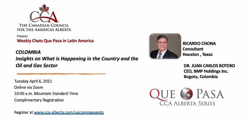 COLOMBIA Insights on What is Happening in the Country and the Oil and Gas Sector