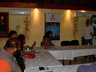 Réunion d'information à Koné : lancement du nouveau programme de formation de l'ESSEC
