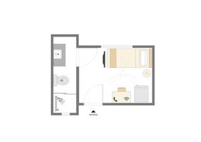 Planta Suite Individual