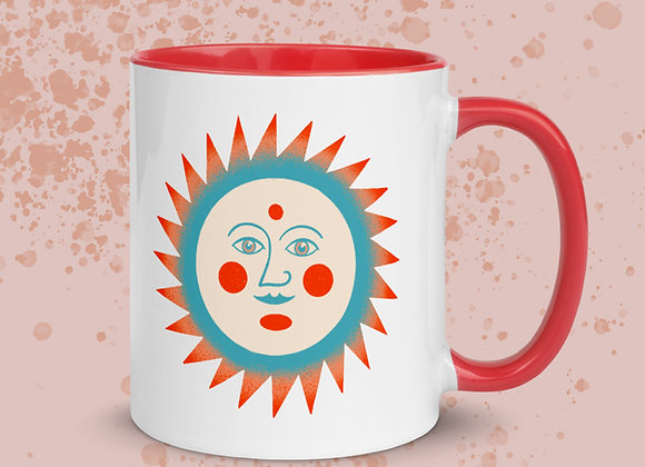 There Was a Sun Once Mug