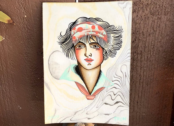 Lady Head - Original Portrait