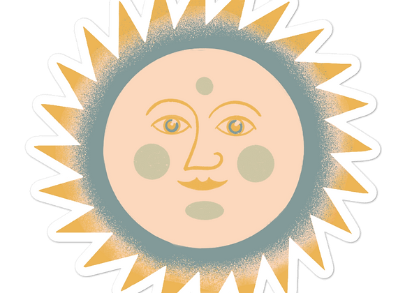 Soothing Sun Sticker