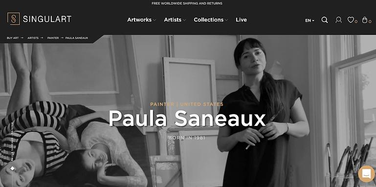 SINGULART banner Paula Saneaux.png