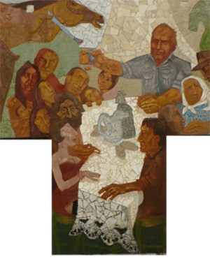 Fragmento Mural San Cosme
