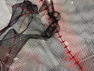 Fragmento Torso bordado