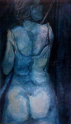 Mujer de Espalda con Lampazo