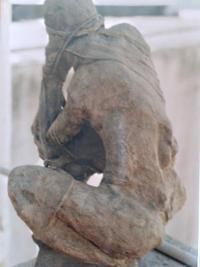 Espalda, Escultura