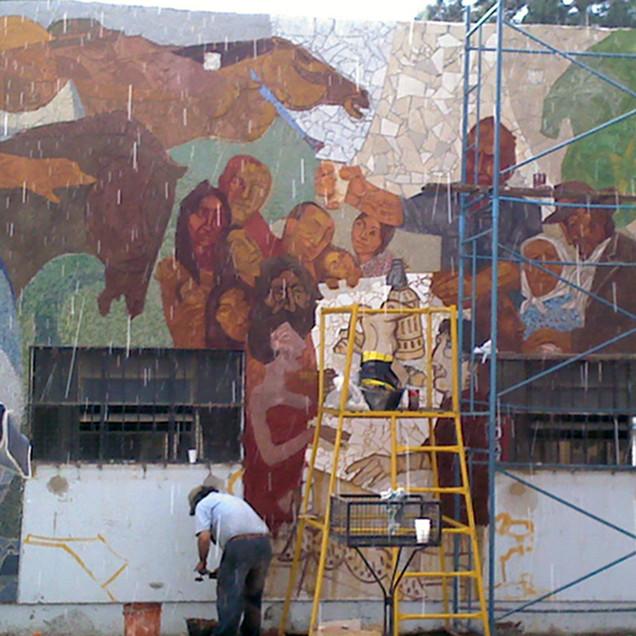 Mural Corrientes, Homenaje a Carpani