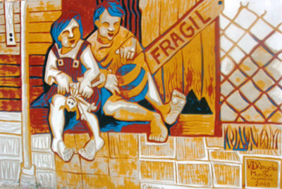 Mural en Paraguay