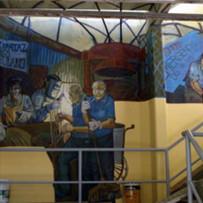 Fragmento Mural Municipalidad