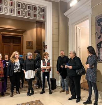 Inauguración Muestra Arte Politica Lealtad