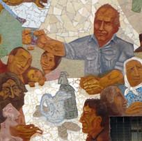 Mural San Cosme, Homenaje a Carpani