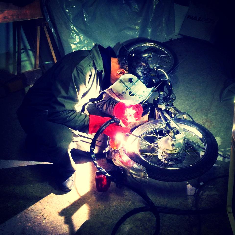 Moto Therapy soudure TIG