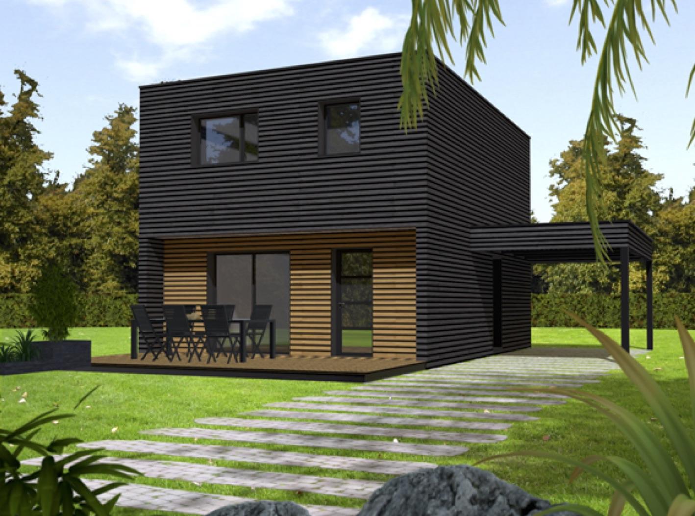 Maison ossature bois CCMI