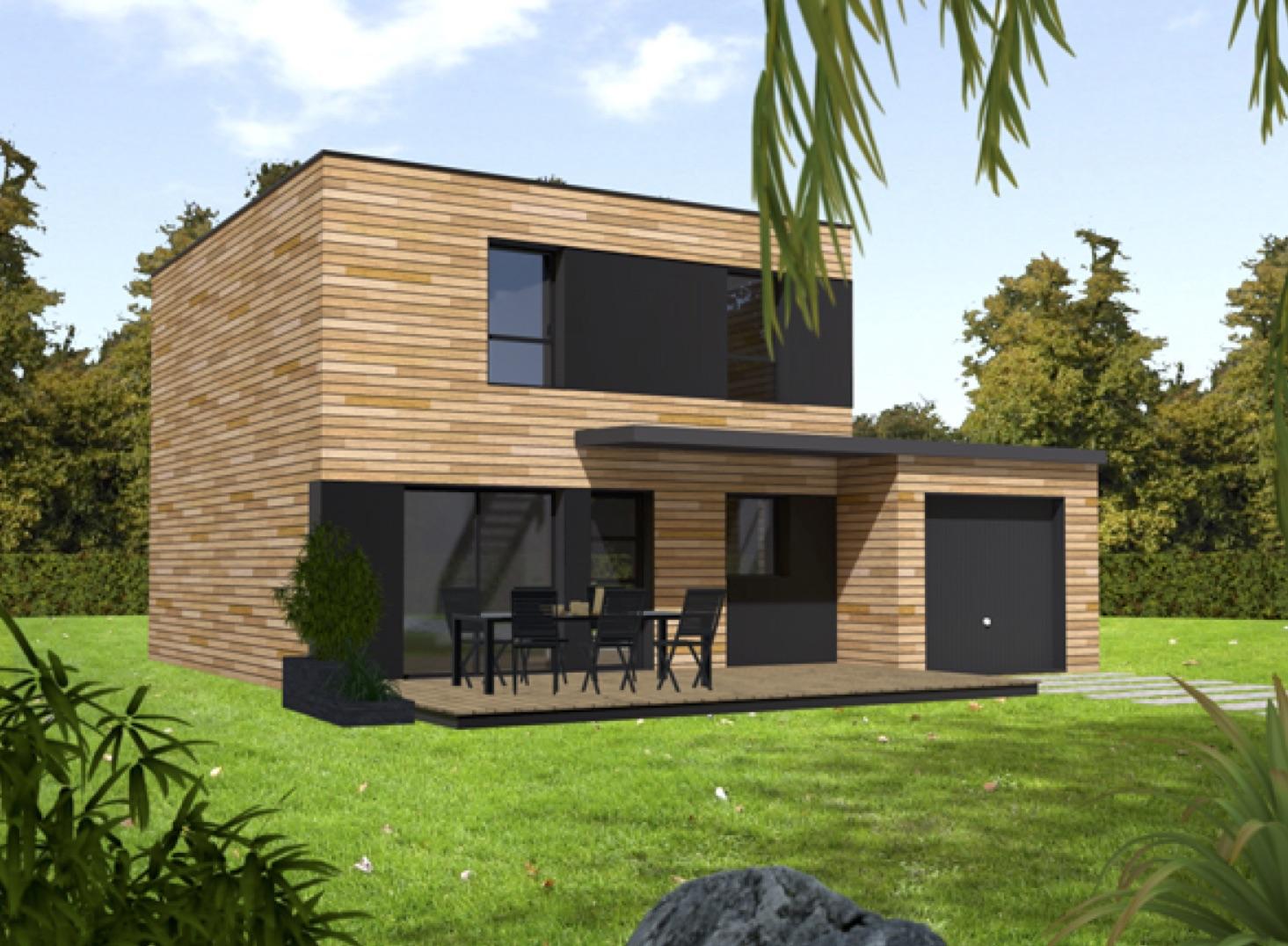 Maison bois écologique architecte
