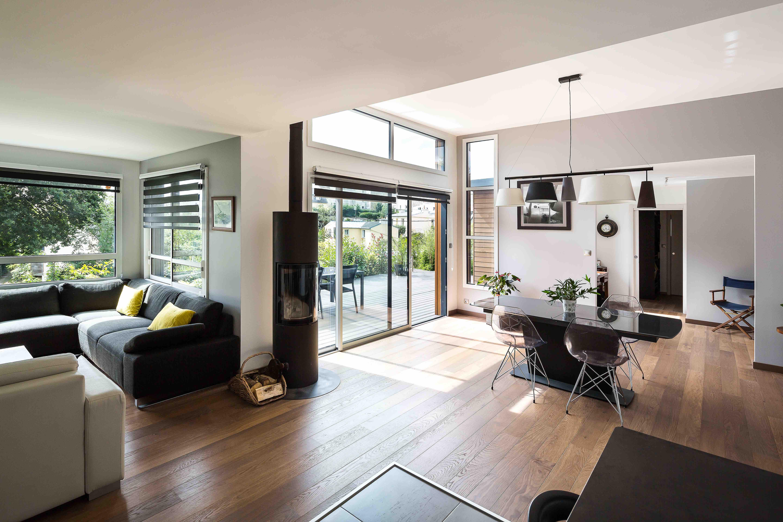 constructeur ccmi maison bois paris ile de france oise val d 39 oise maison ossature bois ccmi poele. Black Bedroom Furniture Sets. Home Design Ideas