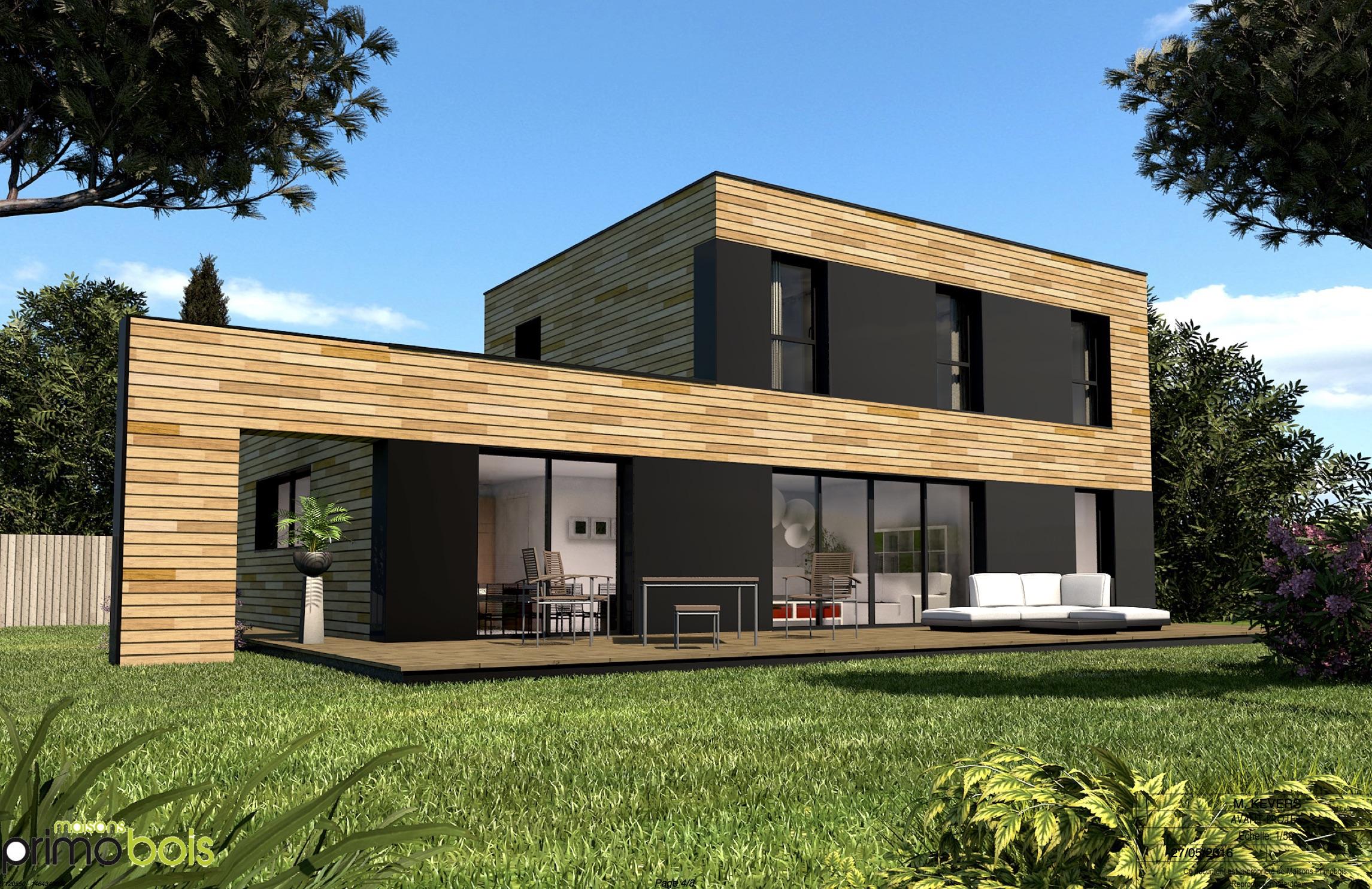 Maison bois architecte CCMI pas cher