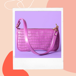 Pink and Peach Freeform Art Instagram Po