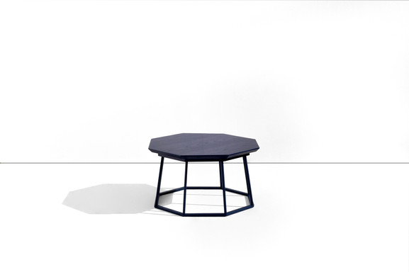 container 5-1 octagonal side table