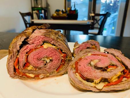 Matambre: Argentinian Stuffed Flank Steak