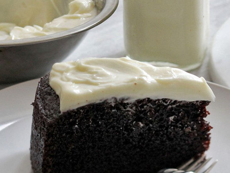 FLOURLESS CHOCOLATE, WHISKEY AND GUINNESS CAKE