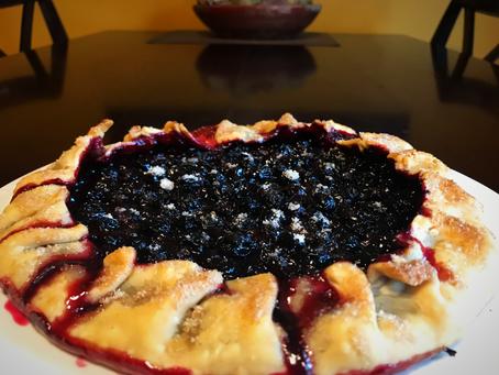 Gooseberry Blueberry Galette