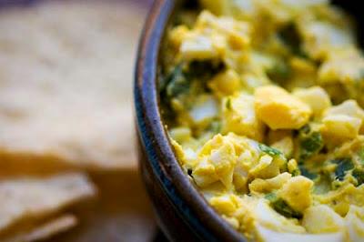 Jalapeño egg salad