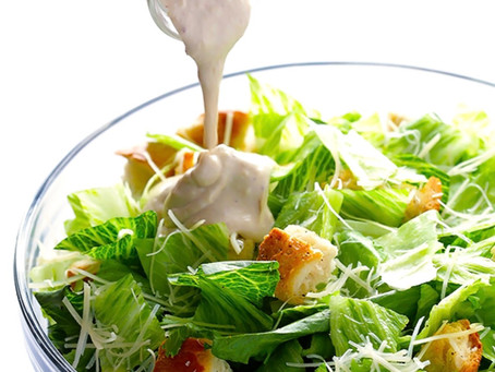 Caesar Dressing with GreekYogurt