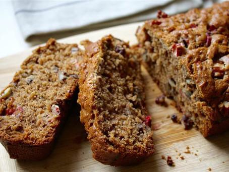 Cinnamon Rhubarb Bread