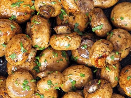 Balsamic GarlicMushrooms