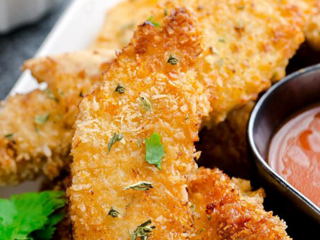 Crispy Buffalo Buttermilk Oven Fried Chicken