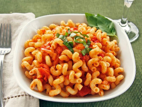 Cavatappi with Vodka Sauce