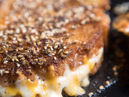 Everything Spice Grilled Cheese