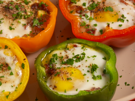 Egg-in-a-Hole Peppers