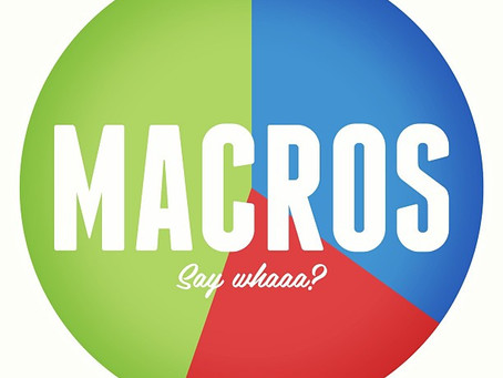 Macros... what are they and why do they matter?