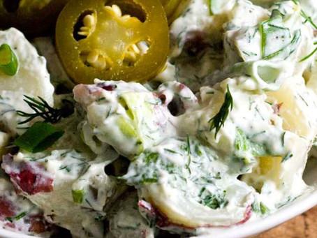 Dill Baconand Jalapeno Potato Salad
